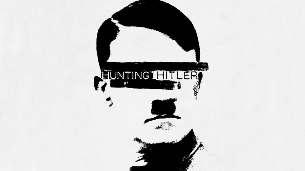Artwork for the HISTORY series Hunting Hitler.