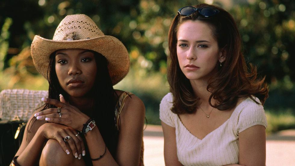An image of Jennifer Love Hewitt and Brandy