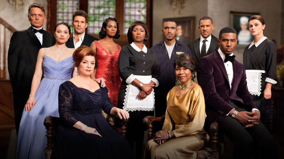 Cast photo for the Tyler Perry drama, The Have and the Have Nots