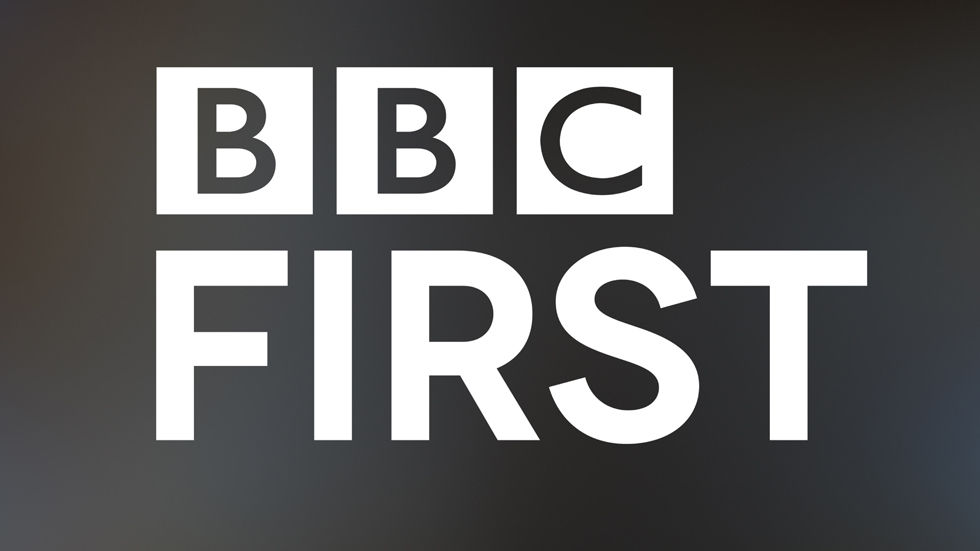 Logo for the BBC Worldwide channel, BBC First