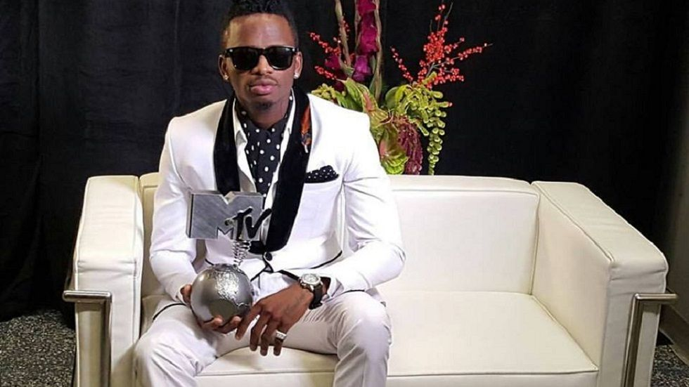 Diamond Platnumz at the MTV EMAs