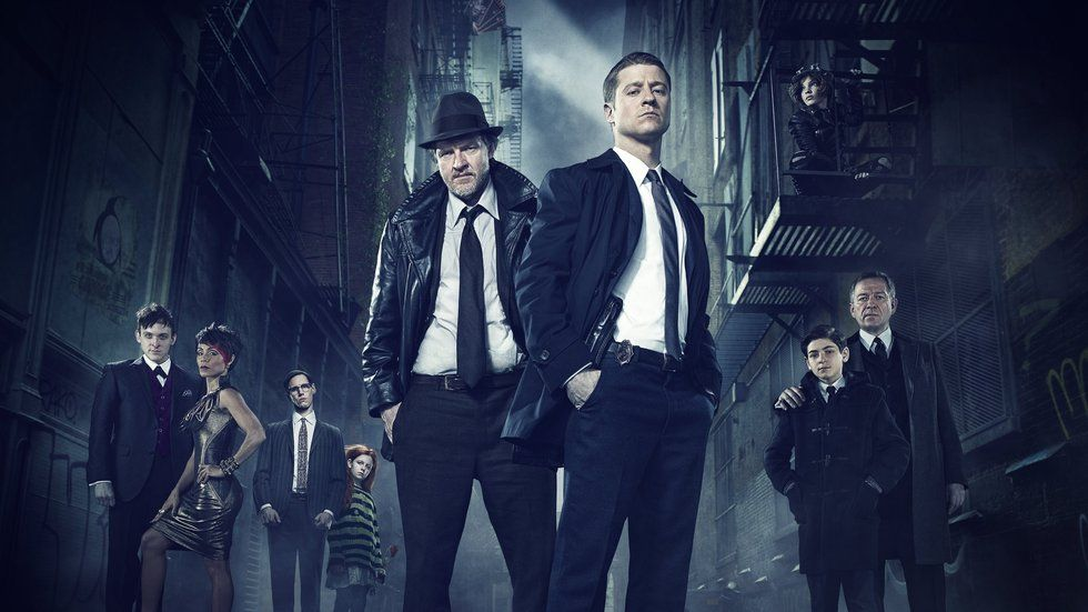 An image of the cast of Gotham.