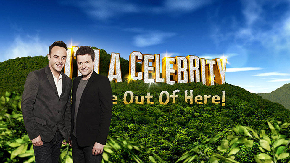 And and Dec from I'm a Celebrity...Get me Out of Here.