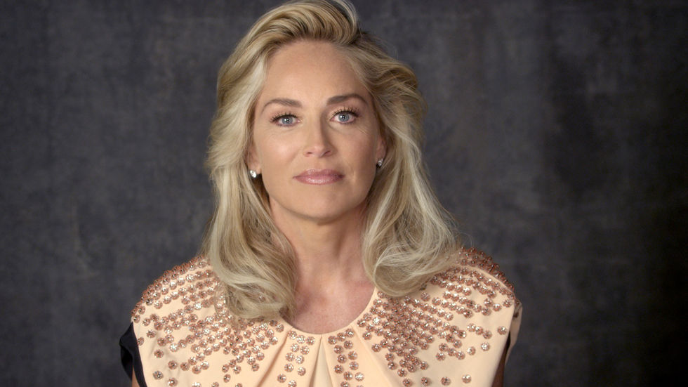An image of actress Sharon Stone