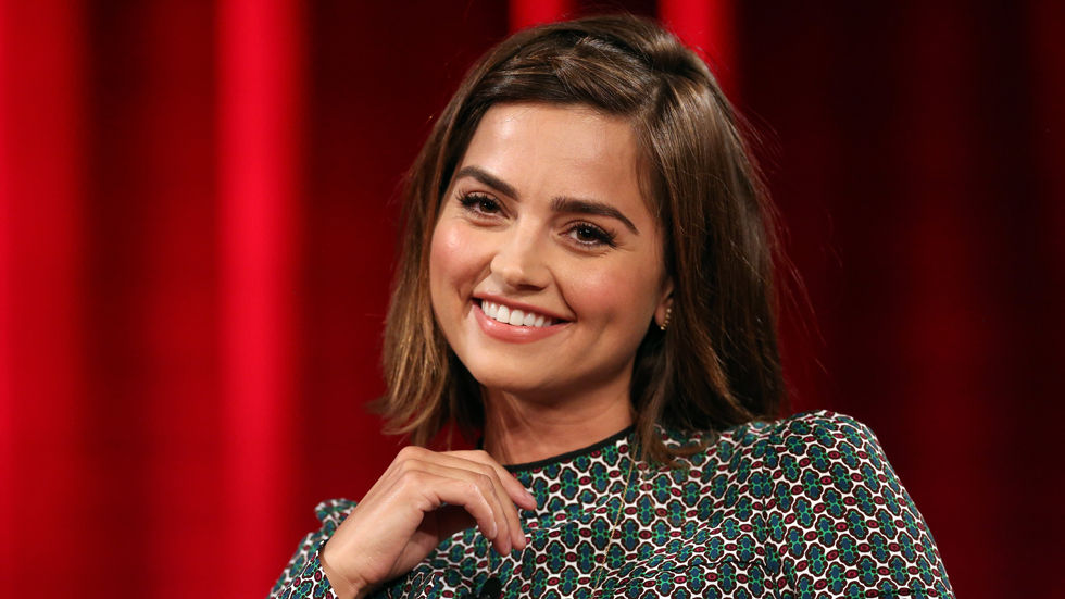 Star of the BBC First series Doctor Who, Jenna Coleman