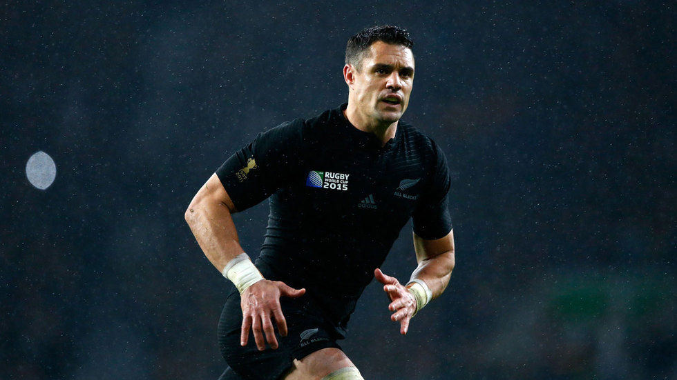 New Zealand fly half Dan Carter.