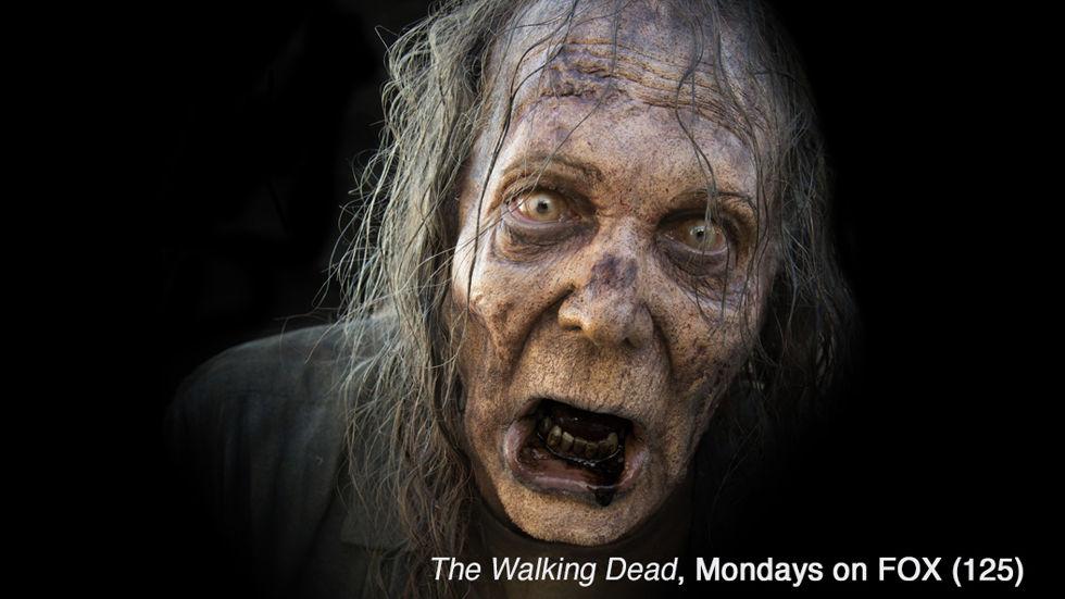 Zombie from The Walking Dead on Fox