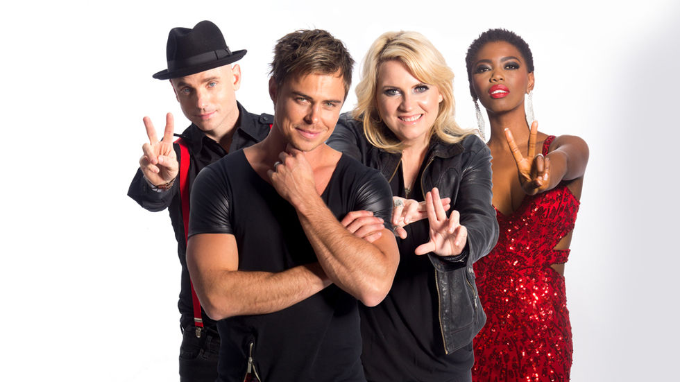 Khan, Lira, Karen Zoid and Bobby van Jarsveld as coaches of The Voice SA on M-Net (101)