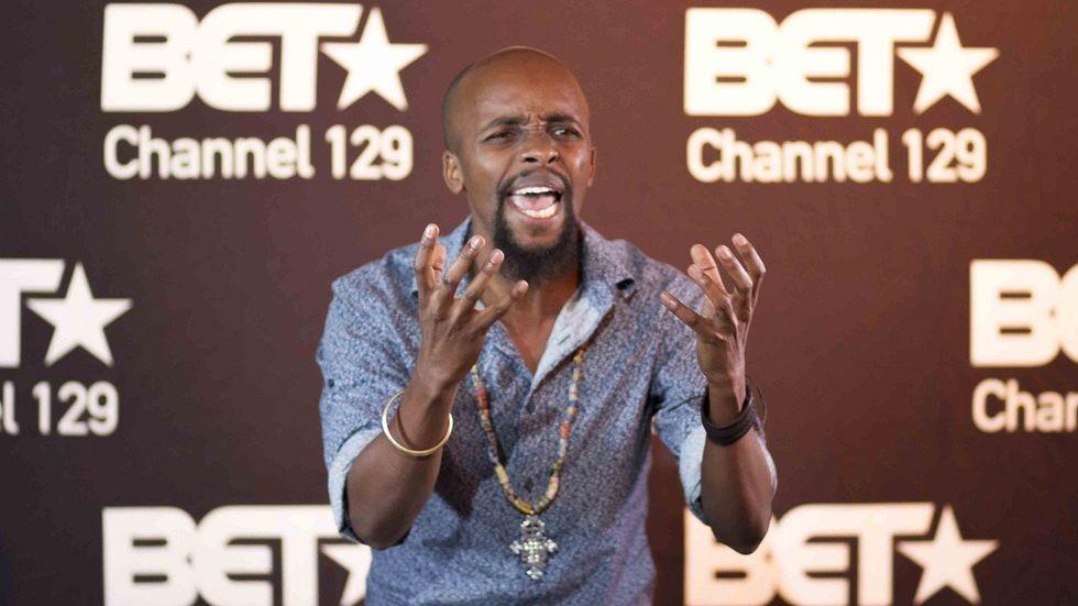 Nairobi Half Life actor Mugambi Nthiga at the Top Actor Africa auditions in Nairobi