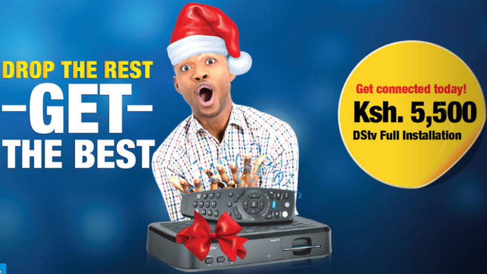 DStv Get the Best festive campaign