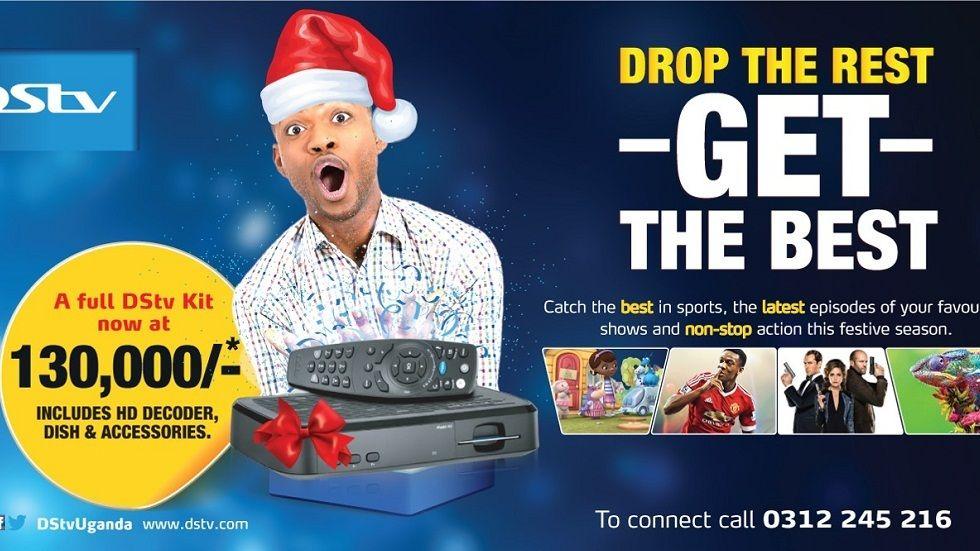DStv Uganda Festive Campaign - Drop the Rest, Get the Best