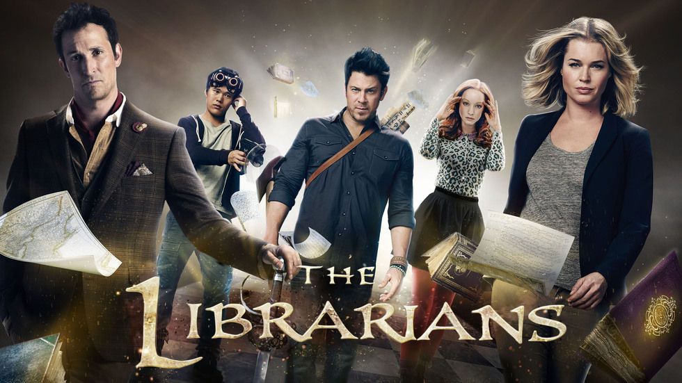 The Librarians cover.