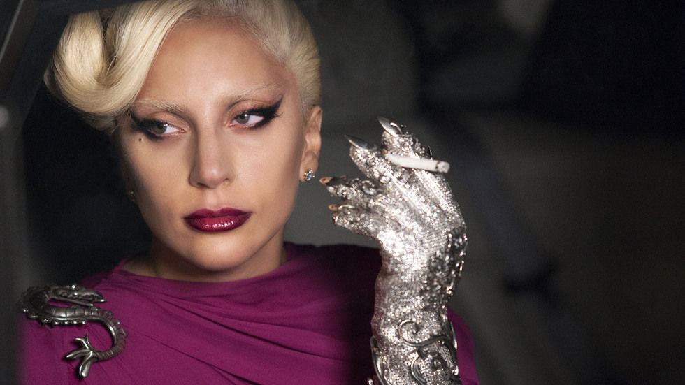 An image of Lady Gaga in American Horror Story.