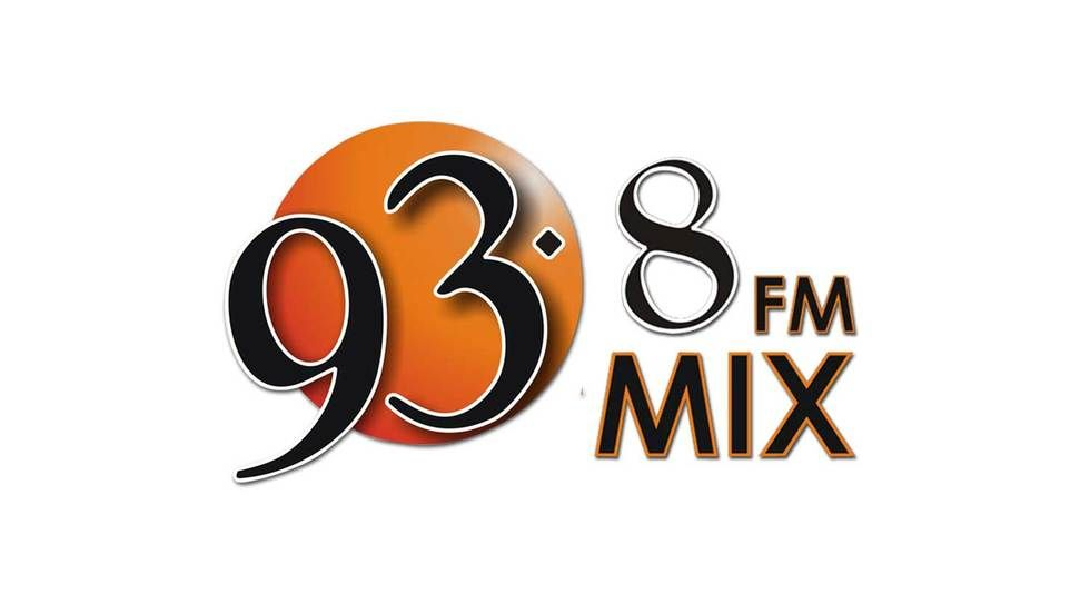 The official Mix 93.8 FM logo.