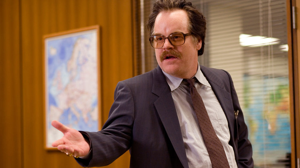 An image of Philip Seymour Hoffman in Charlie Wilson's War.