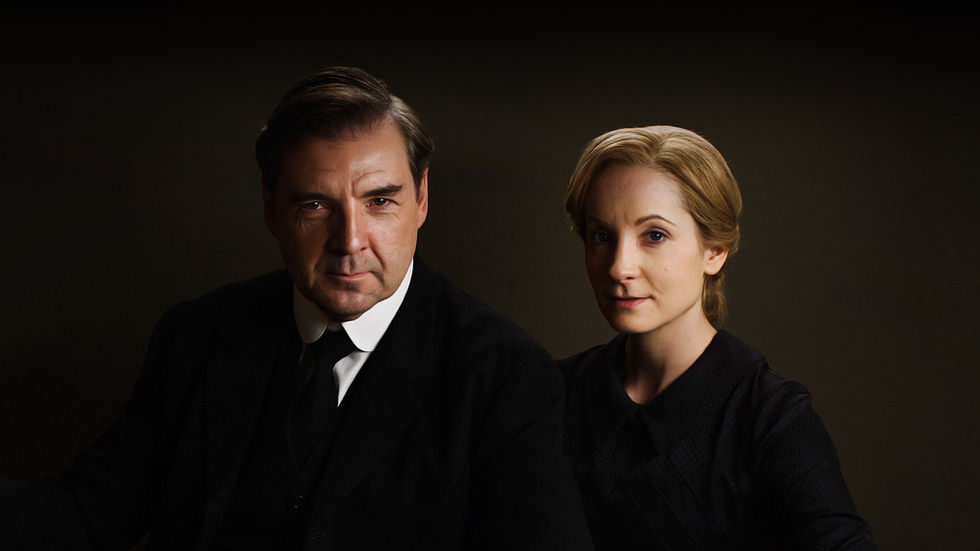 Mr and Mrs Bates, Downton Abbey