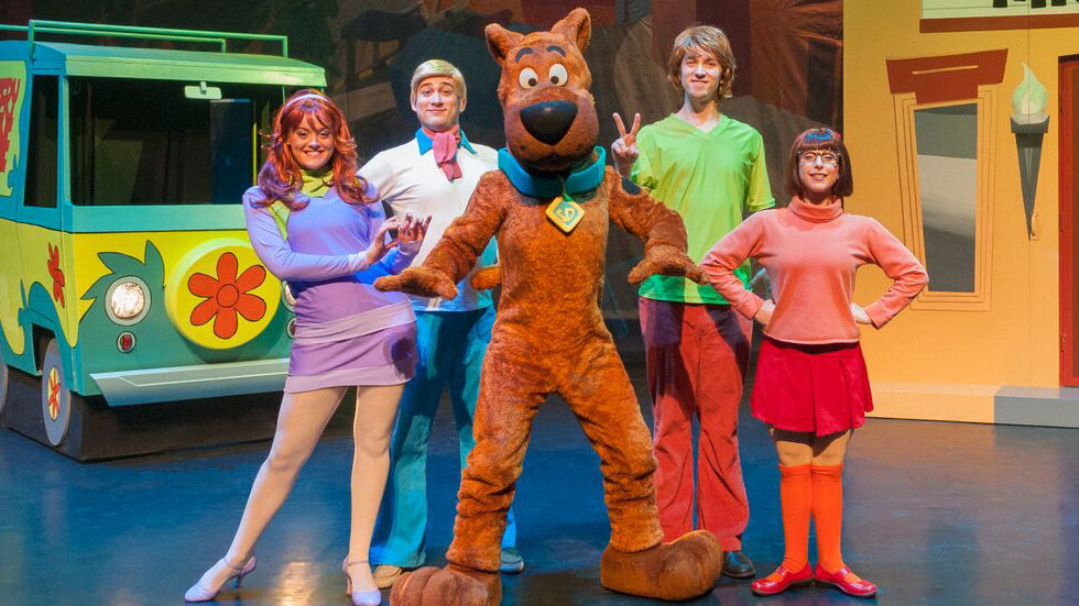 Scooby-Doo and the Mystery Inc gang.