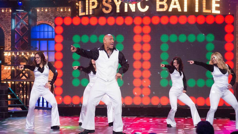 Dwayne Johnson on Lip Sync Battle on MTV