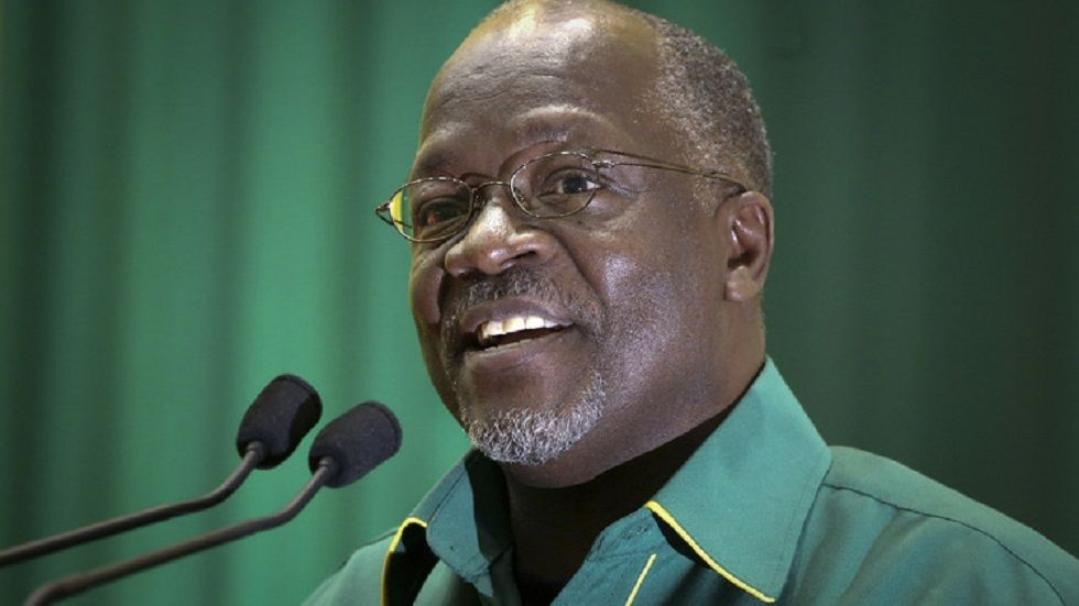 Rais wa Tanzania John Pombe Magufuli