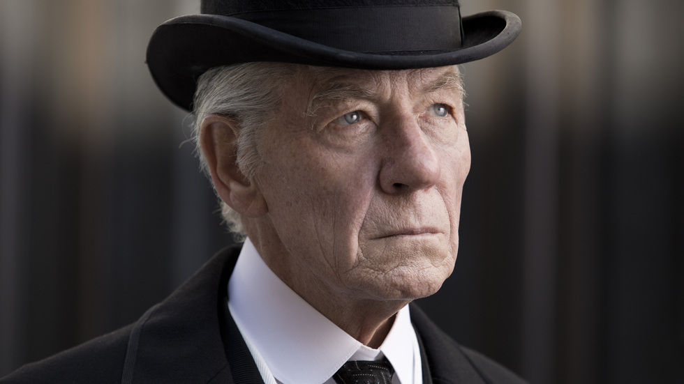 Ian McKellen in the movie Mr Holmes, available to rent on BoxOffice.