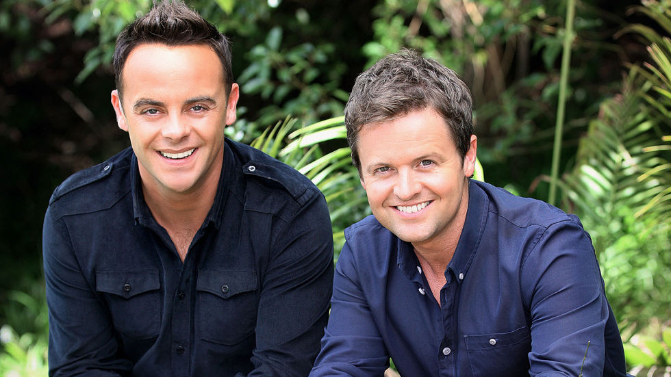 Ant and Dec, hosts of the ITV Choice reality show I'm A Celebrity...Get me Out of Here