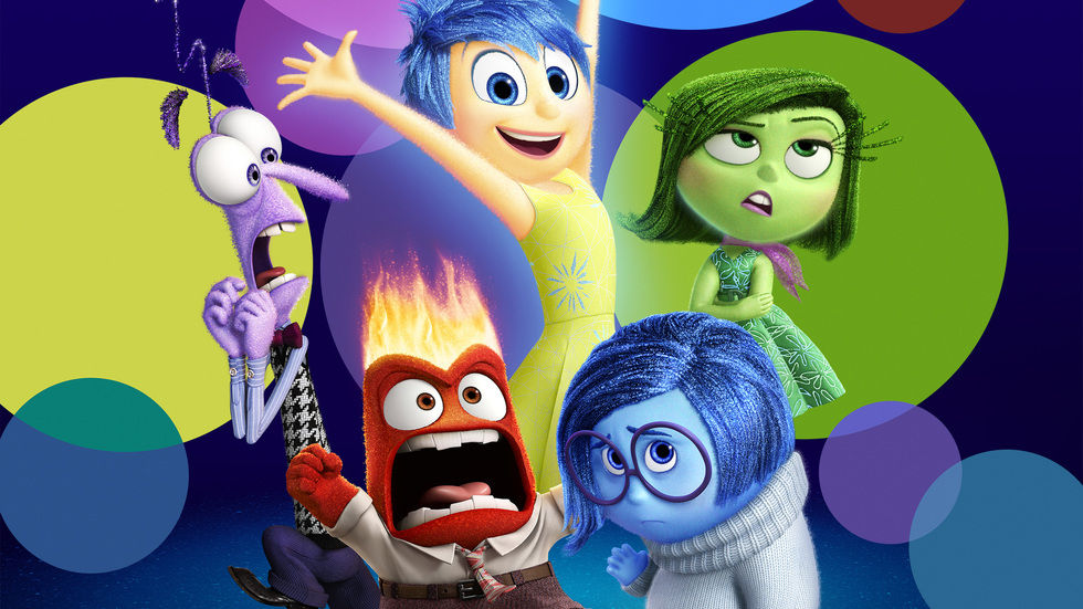 A poster for Inside Out.