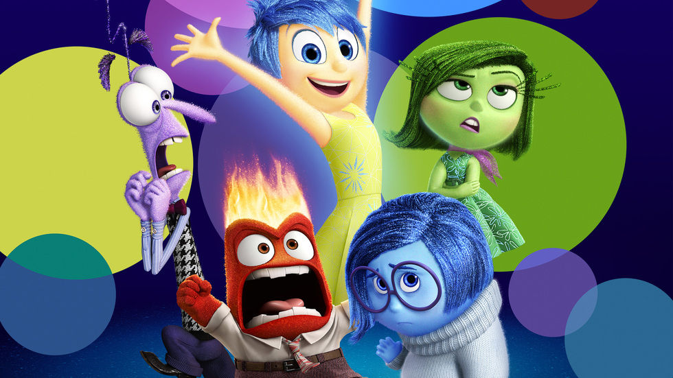 A poster for the movie Inside Out.