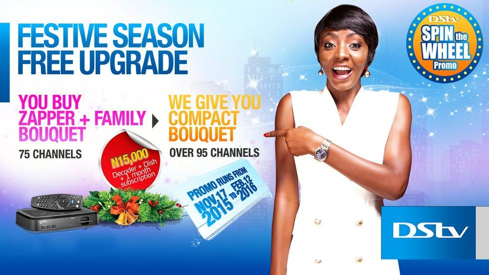 Dstv Upgrade season Ivie Okujaiye