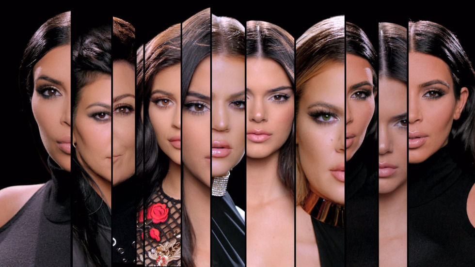 An image of the Kardashians.