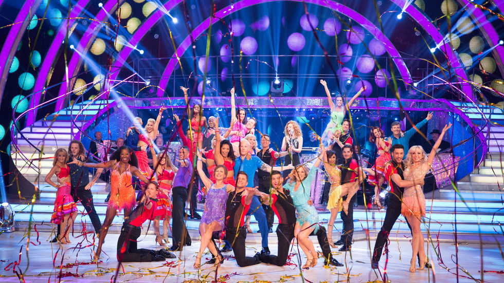 An image of the contestants from Strictly Come Dancing.
