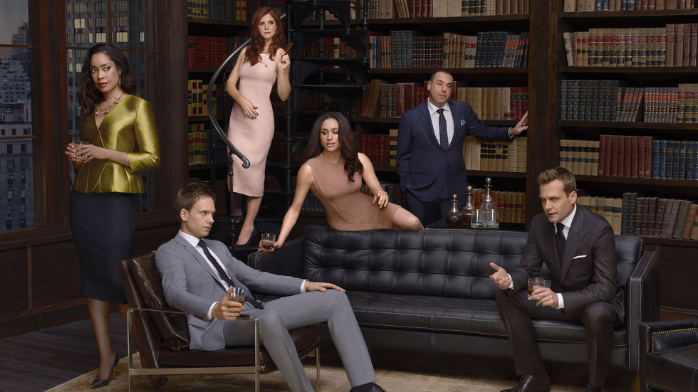 The lead cast for Suits.