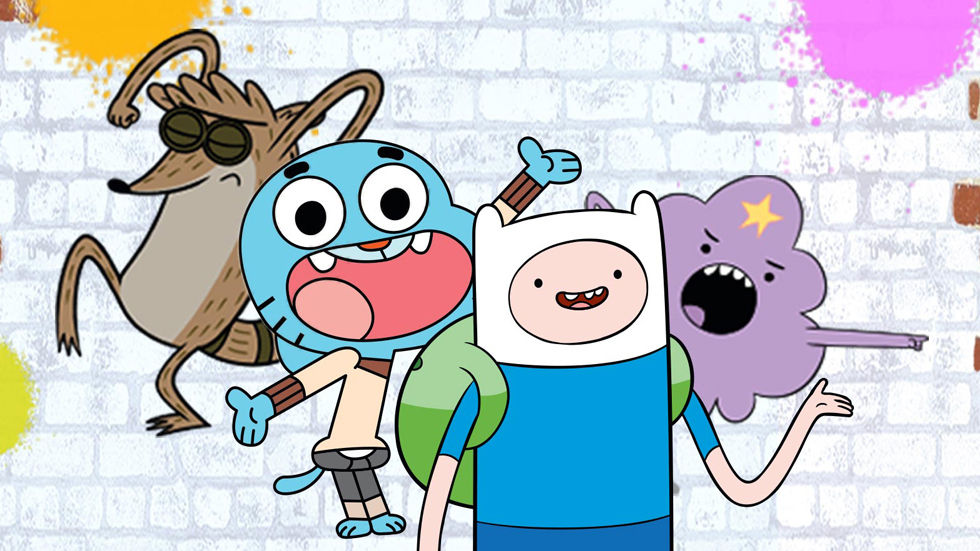 An image of the characters on Cartoon Network