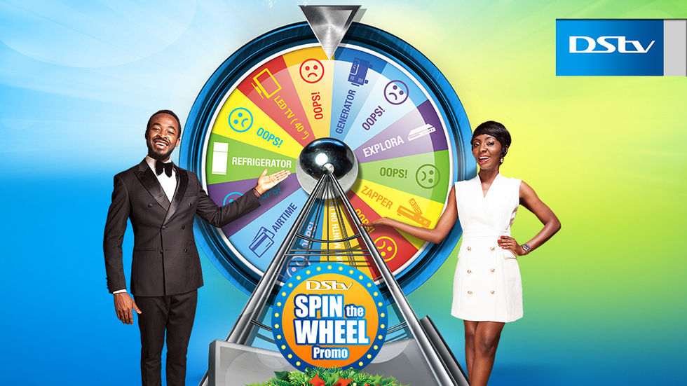 Dstv Spin the Wheel promo