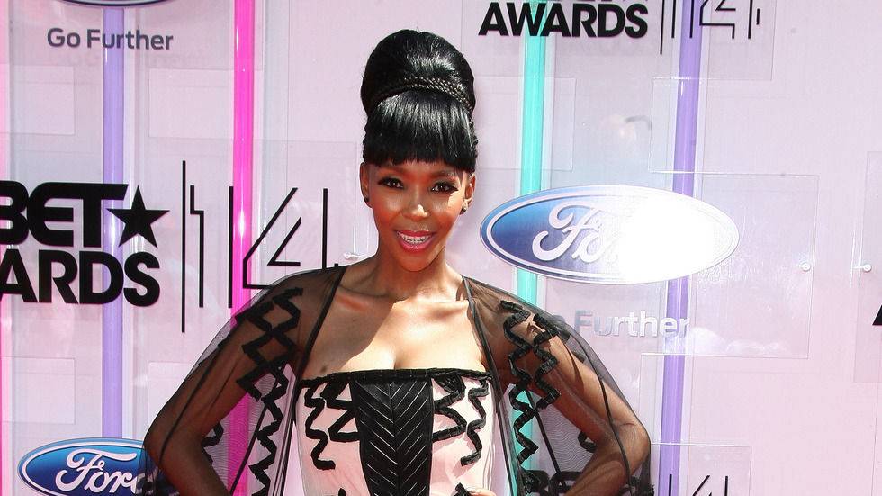 Nhlanhla Nciza at the BET Awards 2014.