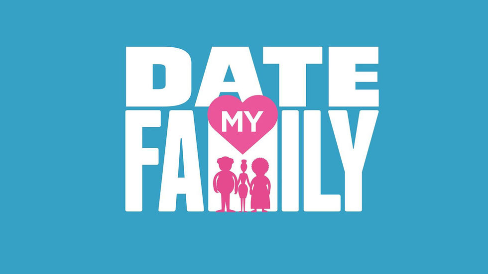 "Logo for ""Date My Family"""