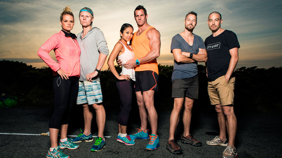 An image of the contestants of The Amazing Race Australia vs New Zealand.