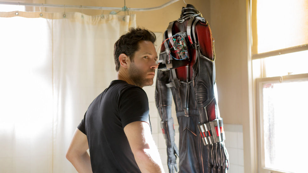 An image of Paul Rudd in the movie Ant-Man.