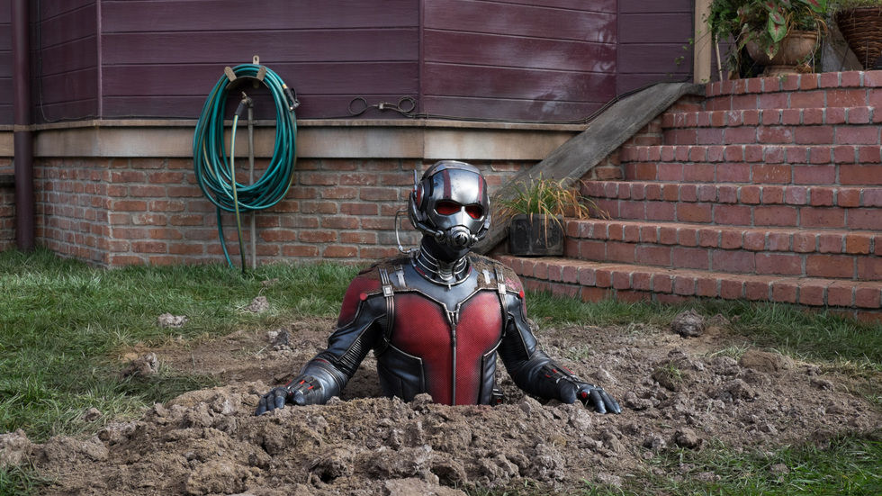 A still image from the movie Ant-Man.