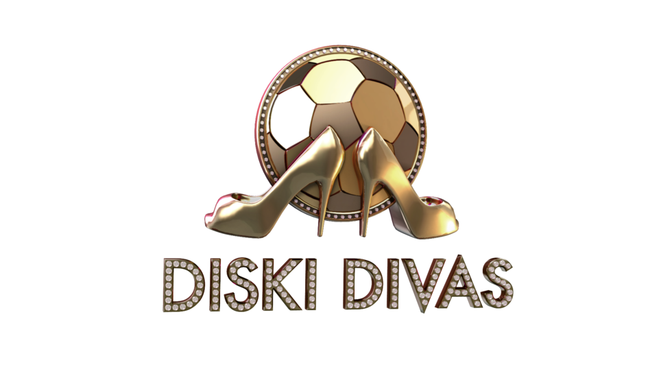The logo for Diski Divas.