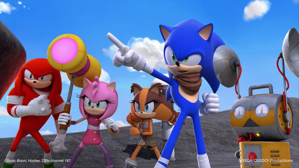 Sonic on Hoolee