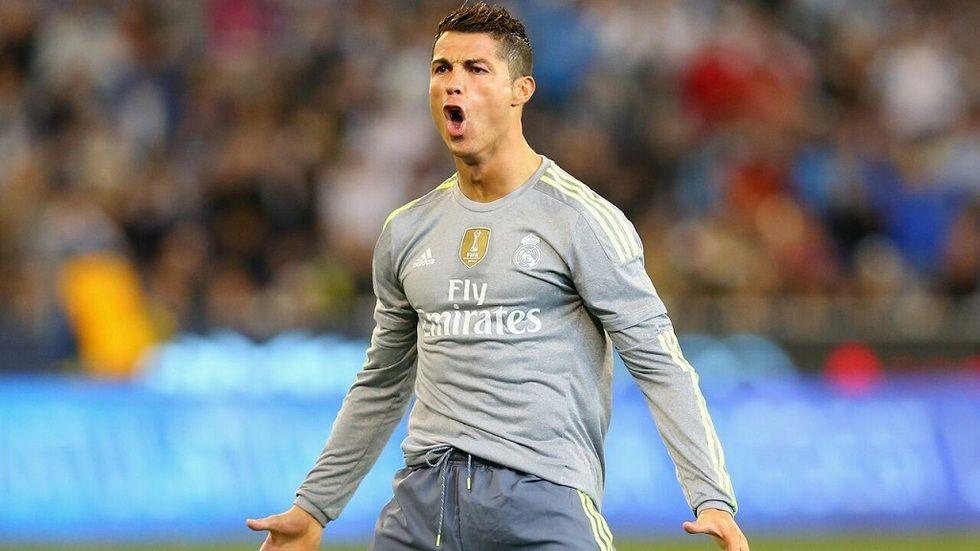 Barcelona's forward Cristiano Ronaldo