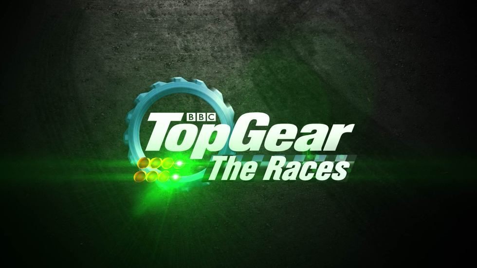The logo for Top Gear The Races.