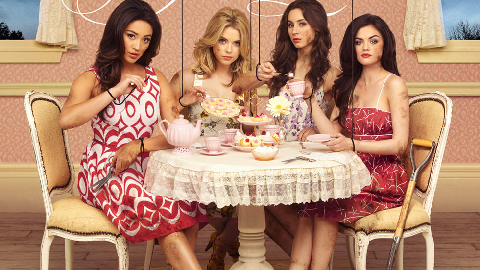 Pretty Little Liars, new, season, series. VUZU AMP