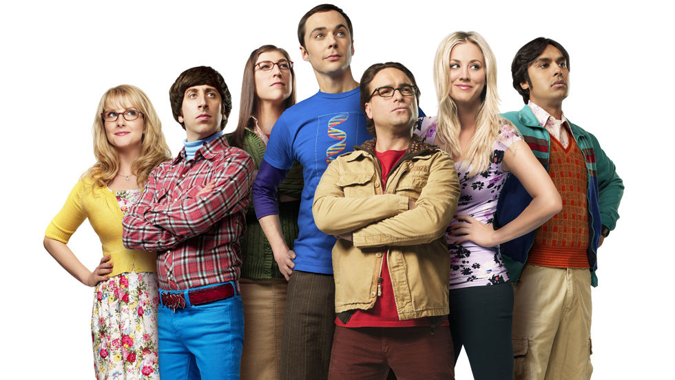 the cast for the Big Bang theory including Johnny Galecki as Leonard Hofstadter, Jim Parsons as Sheldon Cooper and Simon Helberg as Howard