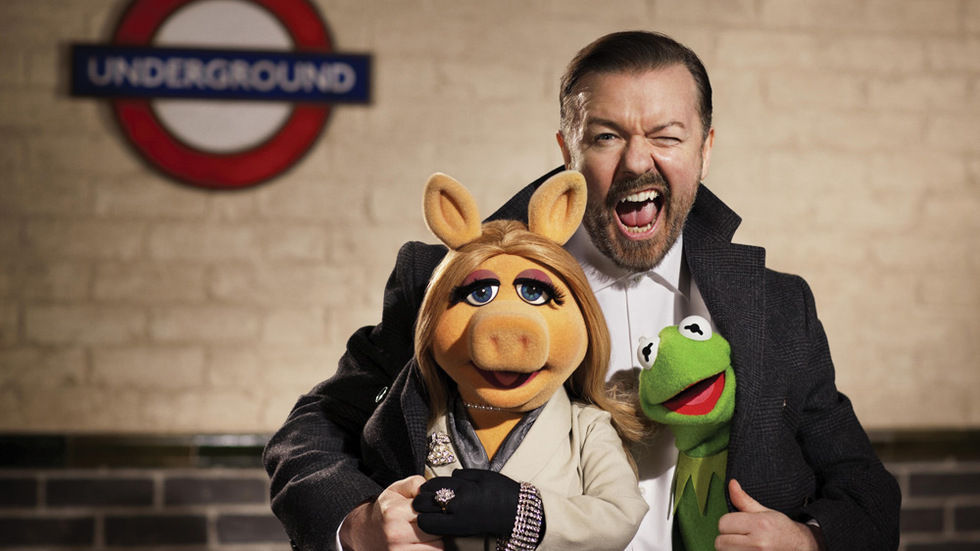 The Muppets in the Meganav