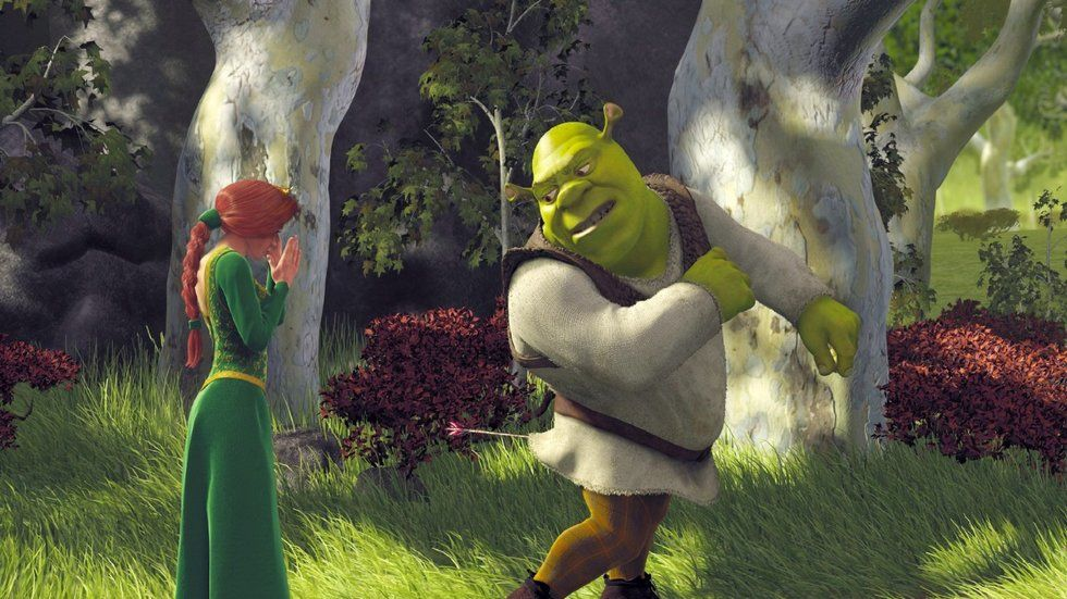Animation movie Shrek