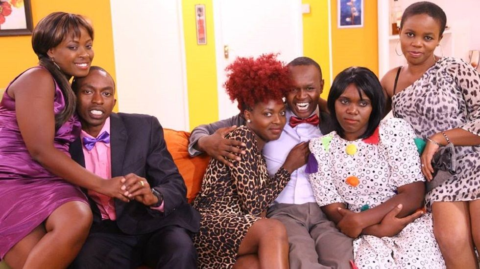 The cast of Icanjama on Maisha Magic East