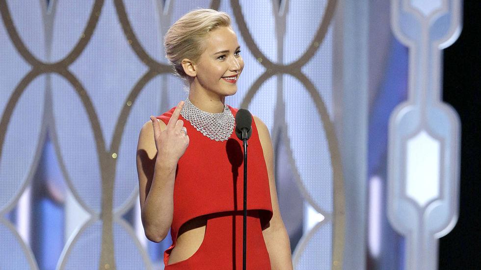 Golden Globes, 2016, Jennifer Lawrence