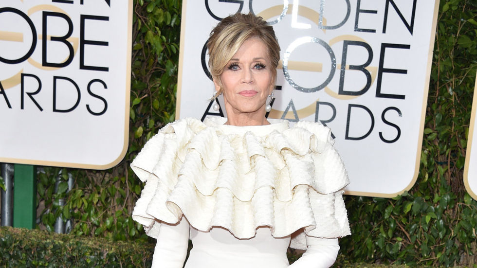 Golden Globes, Jane Fonda, fashion