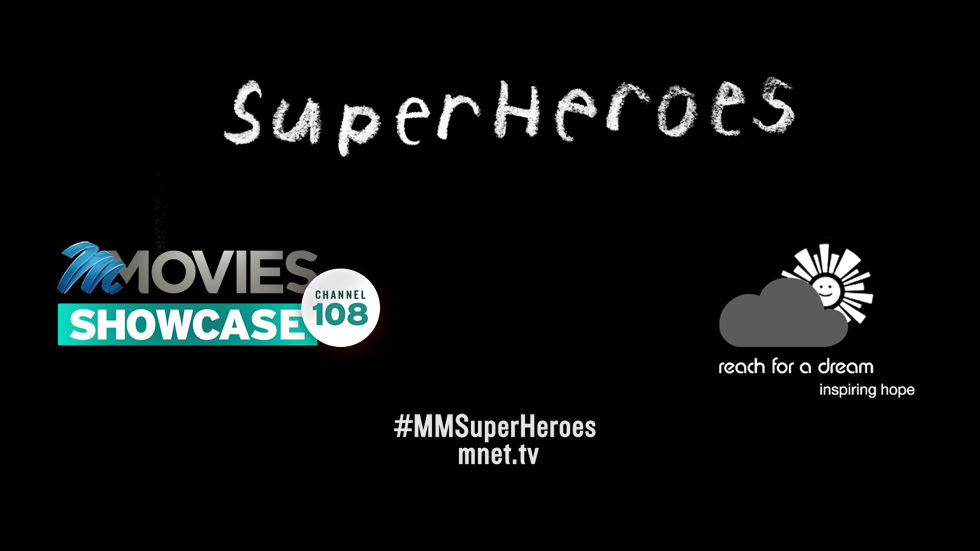 Superheroes campaign artwork for M-Net Movies with no social logos